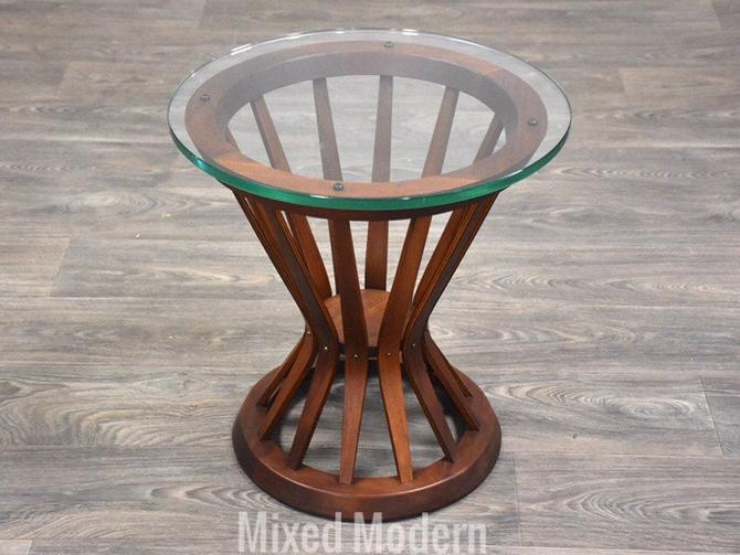 Edward Wormley for Dunbar Sheaf of Wheat End Table by mixedmodern1