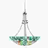 Confetti Glass Mosaic Bowl Pendant by Kichler Lighting