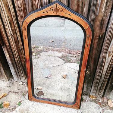 Vintage hallway mirror 40x18 #vintage #petworth
