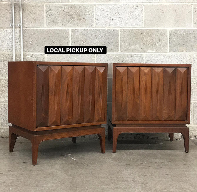 LOCAL PICKUP ONLY ———— Vintage Nightstands by RetrospectVintage215