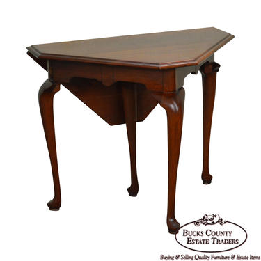 Henkel Harris Solid Cherry Handkerchief Table by BucksEstateTraders
