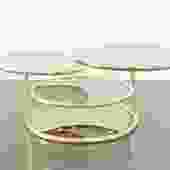 Baughman Style Swivel Coffee Table