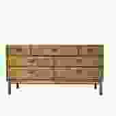 #408: 7 Drawer Mid Century Dresser