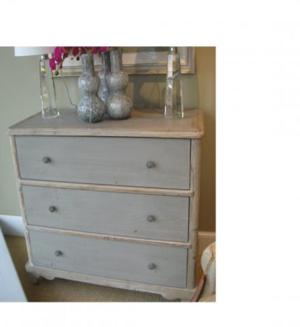 Painted Pine Chest From Random Harvest Home Attic