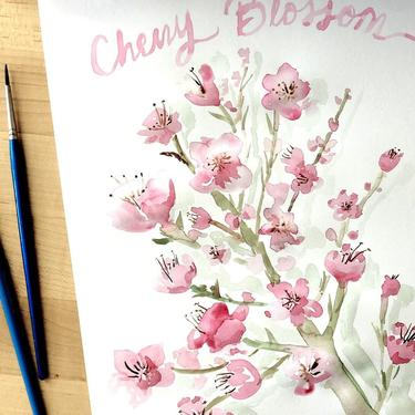 Paint Cherry Blossoms in Watercolor, An In-Person Collaboration with She Loves Me- April 18