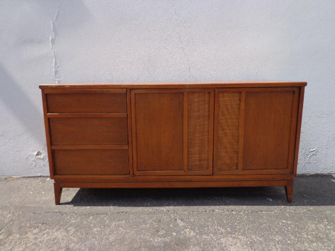 Mid Century Modern Sideboard Danish Mcm Wood Tv Media Console Furniture Cabinet Buffet Server Storage Eames Credenza Bar CUSTOM PAINT AVAIL by DejaVuDecors