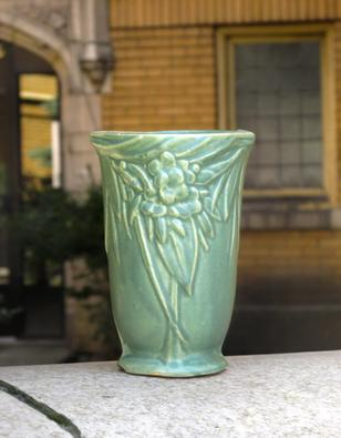 Nelson Mccoy Pottery Vase Antique American Early 20th Century 1920s