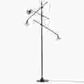 Adjustable 3 Arm Floor Lamp