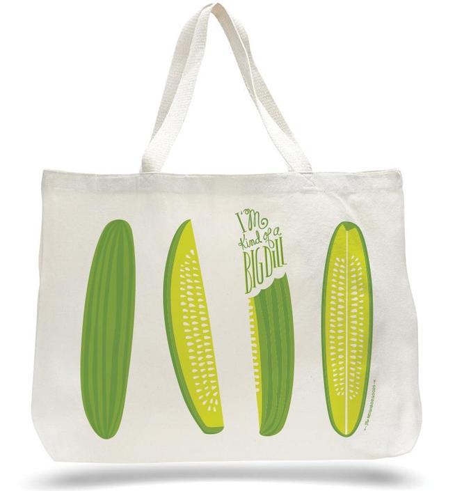 Big Dill Pickle Tote Bag