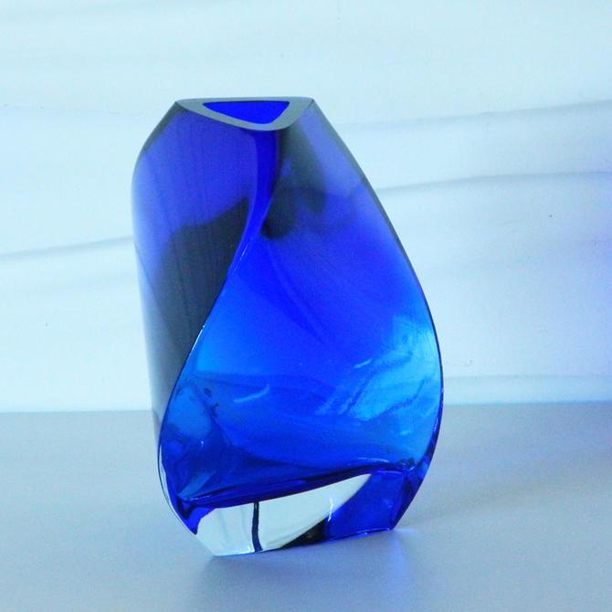 Ha 17154 Dansk Glass Vase Made In Poland From Home Anthology Attic