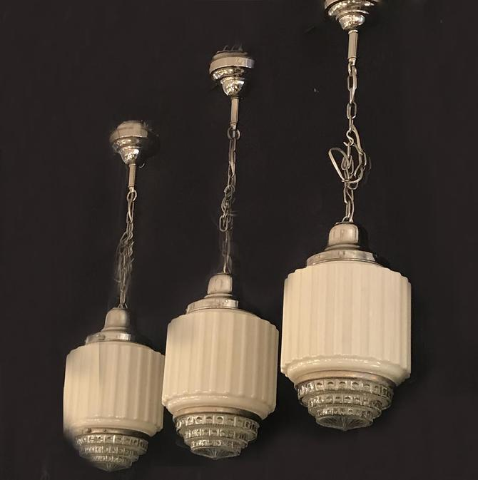 "Deco ""Drugstore"" Lights"