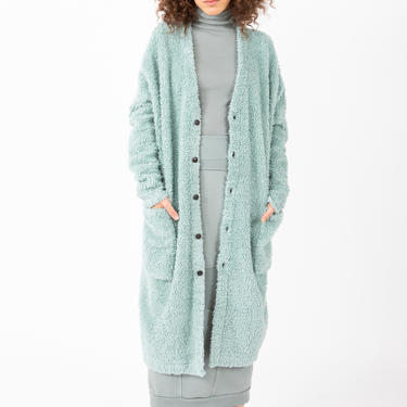Organic Shearling Fur in Slate