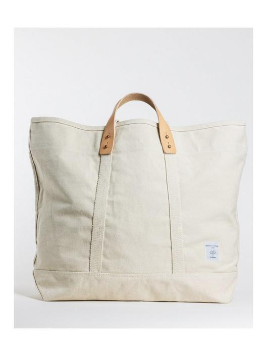 Large East West Tote Natural