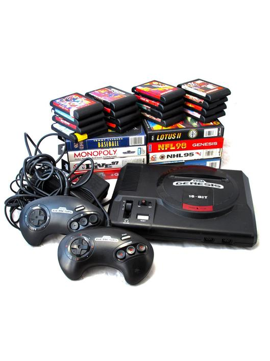 Vintage SEGA Genesis Video Game Lot Including 24 Games 2
