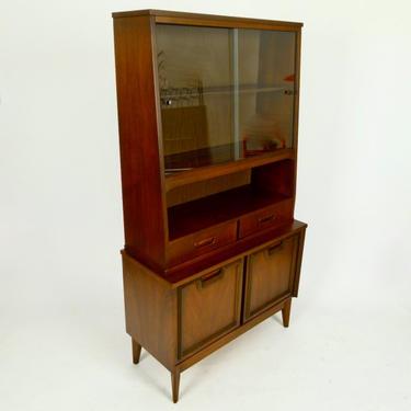 Tall Walnut Cabinet