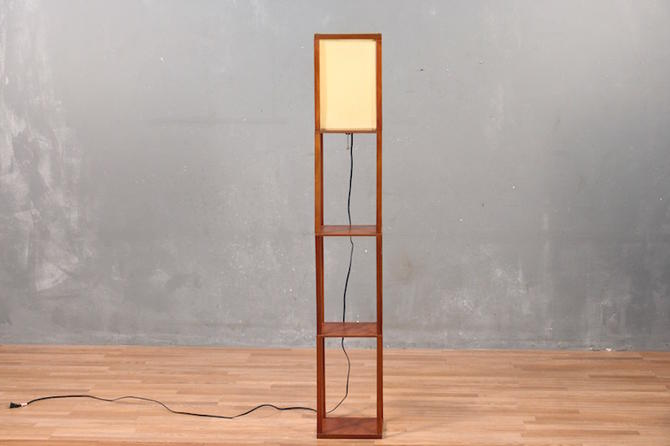 Contemporary Lantern Floor Lamp – ONLINE ONLY