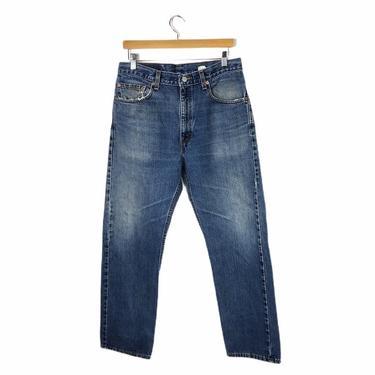 Vintage Levis 505 Jeans Regular Fit Tapered Leg, Size 34/30 by Northforkvintageshop