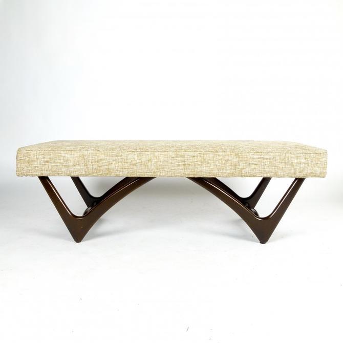 Sculptural Base Bench