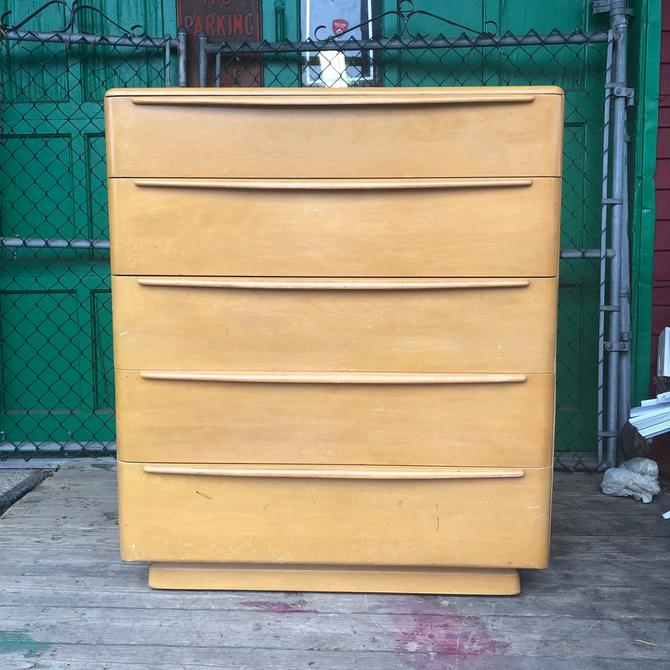 Mid Century Highboy Dresser by Heywood Wakefield