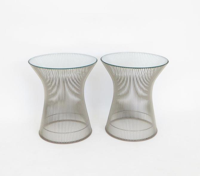 Pair of Warren Platner Side Tables for Knoll International