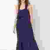 Arya-May Linen Dress - Midnight