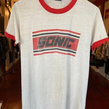 Sonic 70's tissue thin t-shirt S by GimmeDangerLA