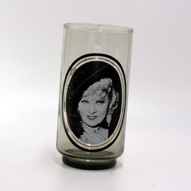 vintage Mae West Glass/Arby's Collector's Series/I'm No Angel by suesuegonzalas