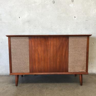 Mid Century Modern Packard Bell Stereo Console from Urban Americana