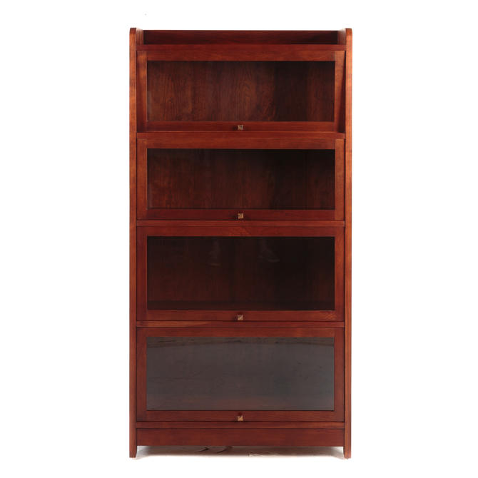 L & G Stickley Cherry Barrister Bookcase