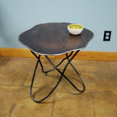 Table with Butterfly Legs by deliafurniture