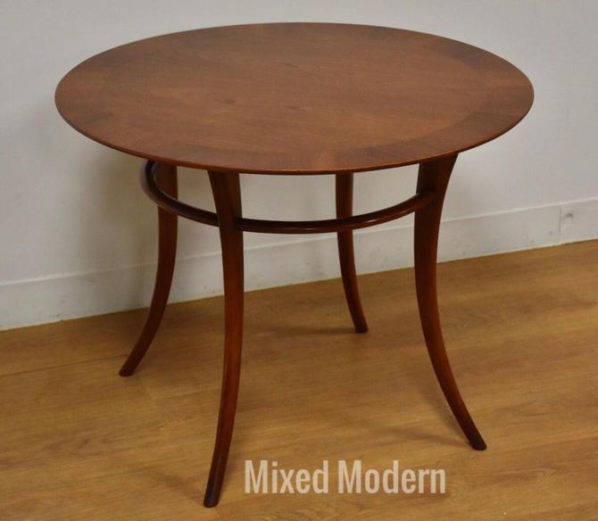 T.H. Robsjohn Gibbings for Widdicomb Round End Table by mixedmodern1