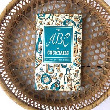 The ABC of Cocktails - Peter Pauper Press - 1962 hardcover by NextStageVintage