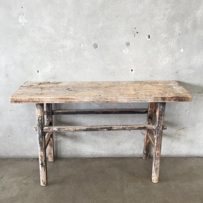 Farm Style Entry Table
