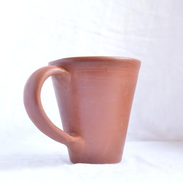Handmade Terra-cotta cup, Coffee cup, Tea cup, Clay cup, coffee mug, Housewarming gift, Unique pottery, Hostess gift by TerracottaTales