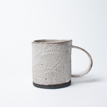 Boheme Mug, Ceramic Mug, Stoneware Mug, Coffee Mug, Tea Mug by TagliaferroCeramics