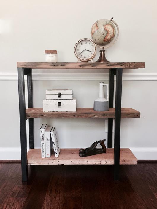 The ABBOTT Reclaimed Wood Bookshelf by arcandtimber