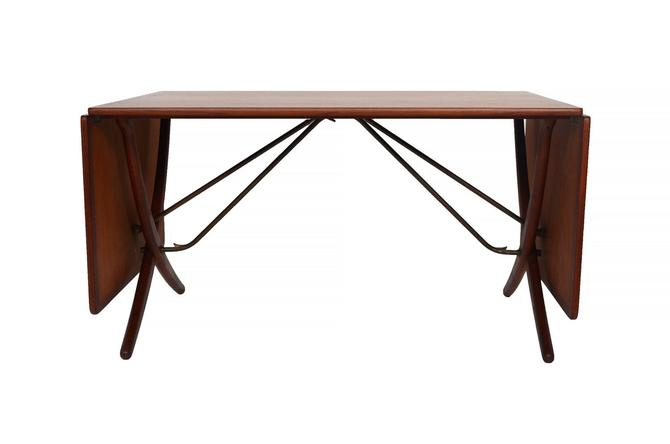 Hans Wegner Sabre Leg Teak Table AT-304, for Andreas Tuck by HearthsideHome