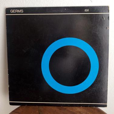 1982 GERMS ( GI ) 2nd Pressing LP Record Vinyl Vintage Album Punk Rock Music by Boutique369