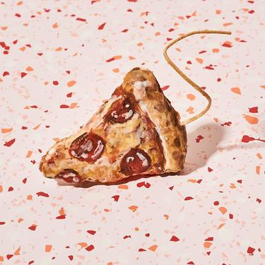 Pizza Slice Candle