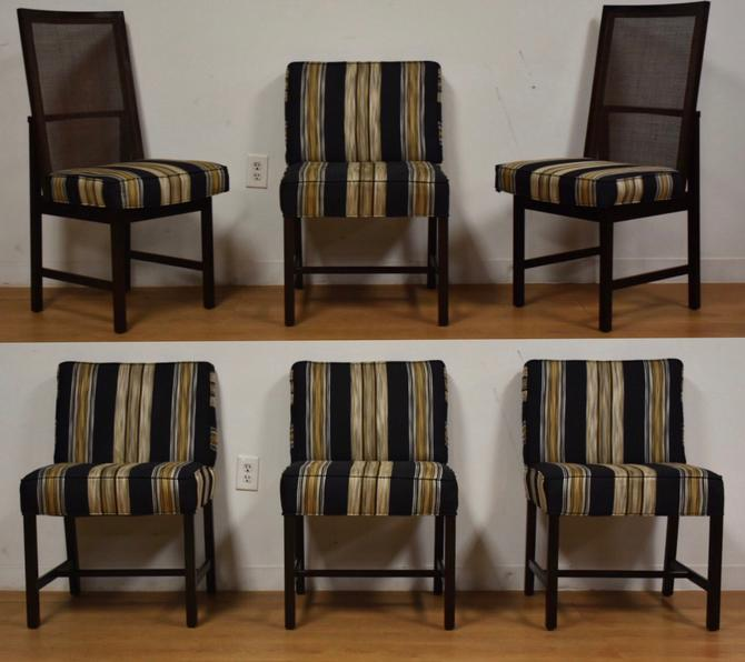 Ebonized Dining Chairs - Set of 6 by mixedmodern1
