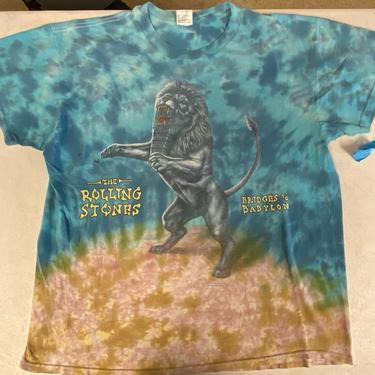 Vtg The Rolling Stones Bridges to Babylon Band T-shirt Size XL