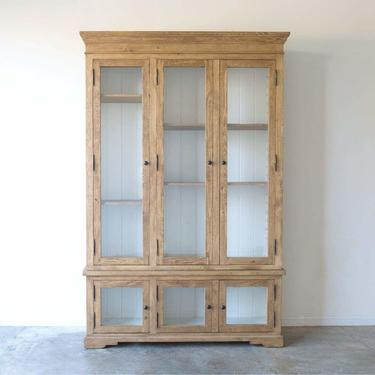 Reclaimed Wood China Closet | Floor Sample
