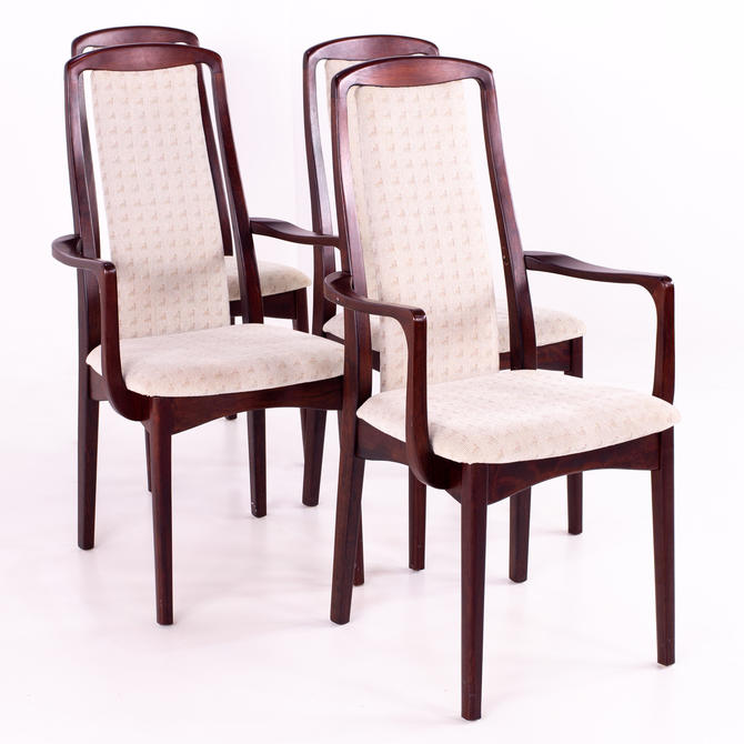 Breox Mobler Snickerinytt Rosewood Mid Century Dining Chairs - Set of 4 - mcm by ModernHill