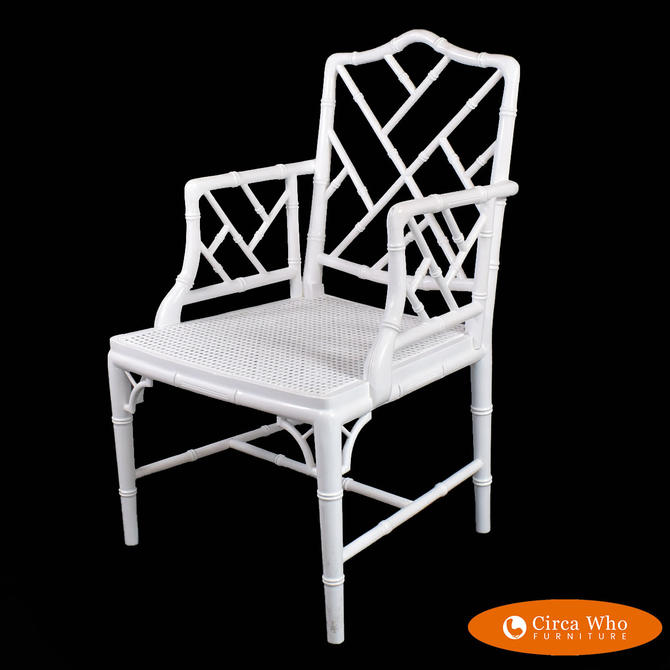 Single Chippendale Arm Chair