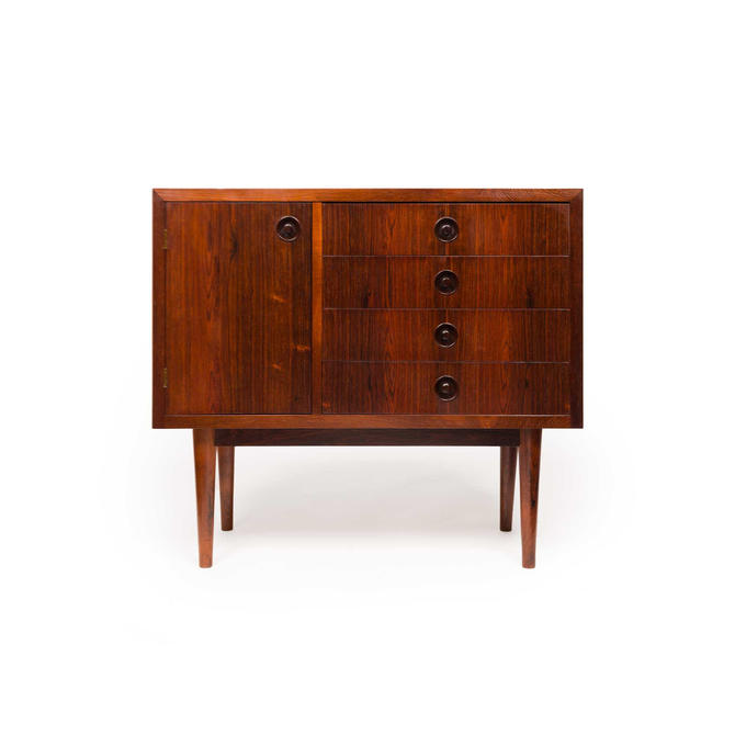 Vintage Danish Mid-Century Rosewood Chest by MCMSanFrancisco