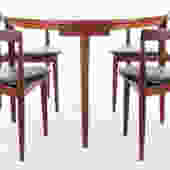 Hans Olsen Compact Dining Set for Frem Rojle