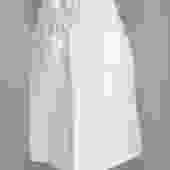 Vintage Courreges White Cotton Twill Pocket Front Skirt 40
