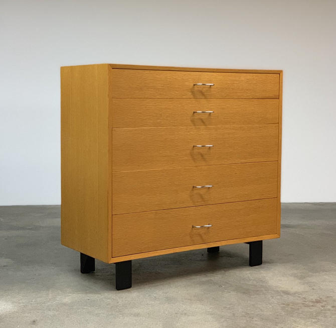 George Nelson Basic Cabinet Series BCS Chest by   Herman Miller by midcenTree