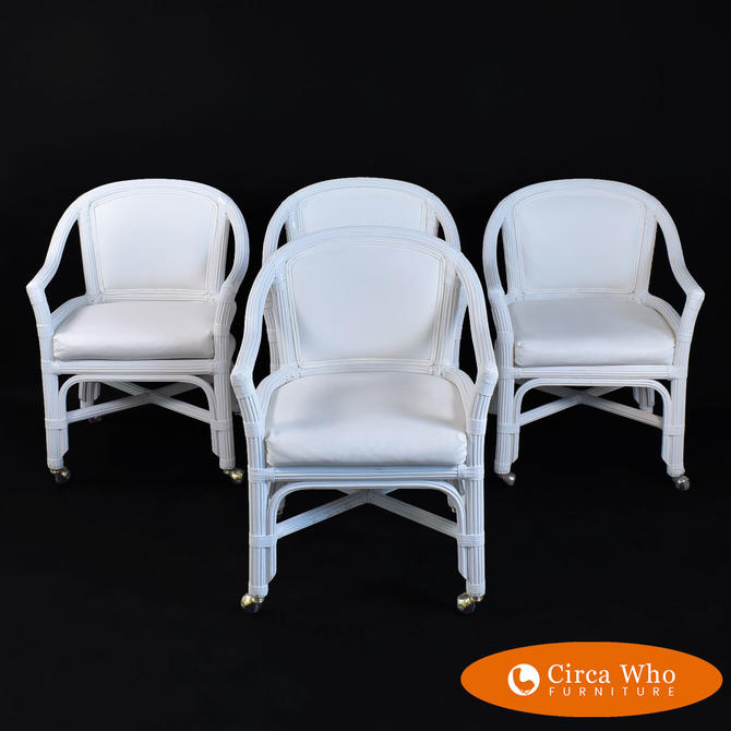 Set of 4 Henry Link Arm Chairs