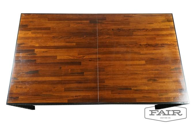 Rosewood Dining Table Attr. To Milo Baughman